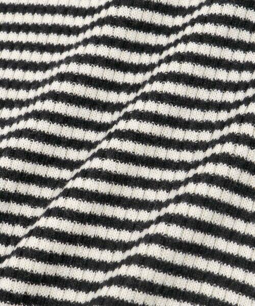 NIMES / ニーム ニット・セーター | コットンアクリルリブ ハイネックプルオーバー | 詳細6
