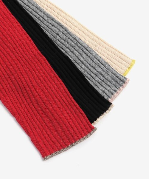 NIMES / ニーム ニット・セーター | コットンアクリルリブ ハイネックプルオーバー | 詳細7