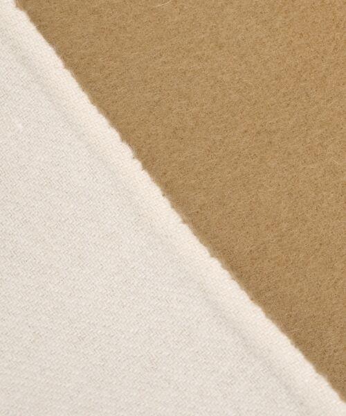 NIMES / ニーム その他アウター | ウールリバー スタンドカラーロングコート(裏配色) | 詳細7