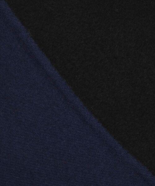NIMES / ニーム その他アウター | ウールリバー スタンドカラーロングコート(裏配色) | 詳細9