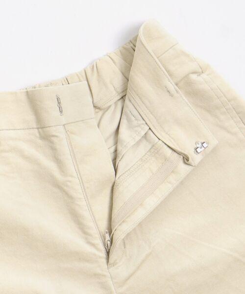 NIMES / ニーム ショート・ハーフ・半端丈パンツ | コットン別珍 9分丈パンツ | 詳細10