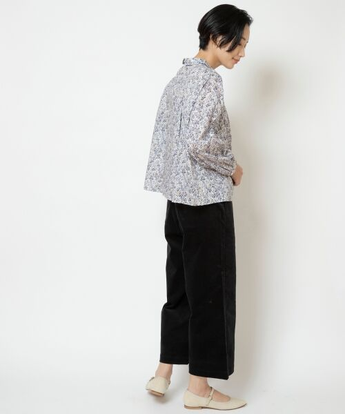 NIMES / ニーム ショート・ハーフ・半端丈パンツ | コットン別珍 9分丈パンツ | 詳細13