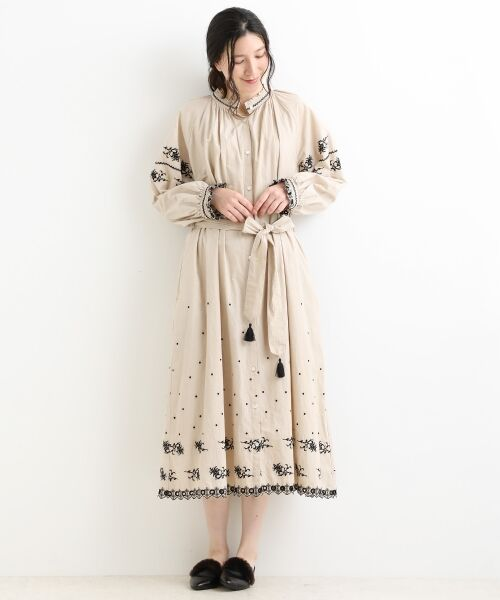NIMES / ニーム ロング・マキシ丈ワンピース | ウクライナ刺繍 ワンピース | 詳細1