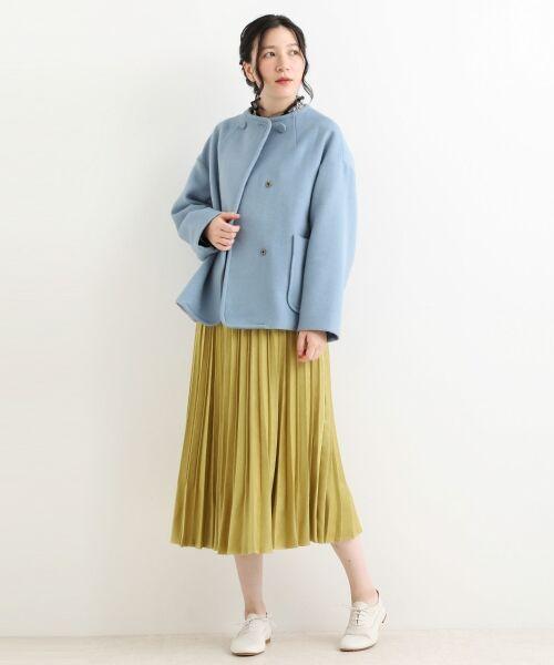 NIMES / ニーム ロング・マキシ丈スカート | プリーツ スエードスカート | 詳細12