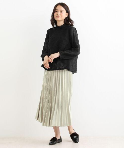NIMES / ニーム ロング・マキシ丈スカート | プリーツ スエードスカート | 詳細2