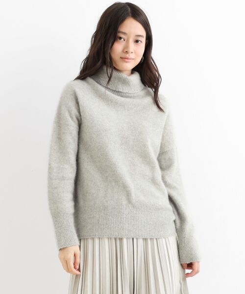 NIMES / ニーム ニット・セーター | ラクーン タートルネックPO | 詳細1