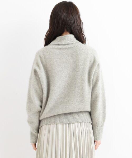 NIMES / ニーム ニット・セーター | ラクーン タートルネックPO | 詳細3