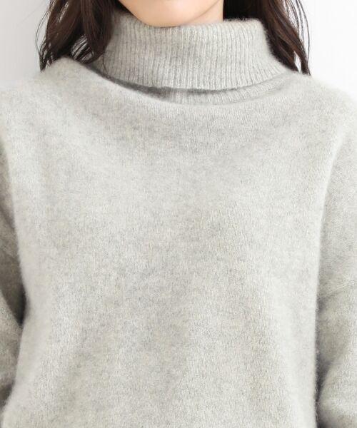 NIMES / ニーム ニット・セーター | ラクーン タートルネックPO | 詳細4