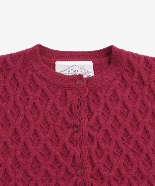 NIMES / ニーム ニット・セーター | HandライクKnit カーディガン | 詳細2