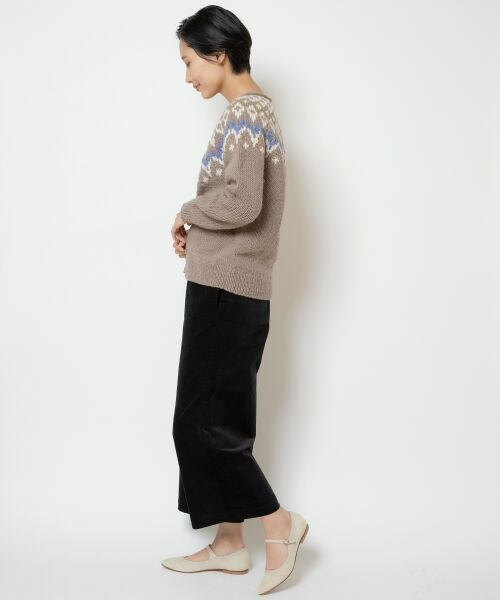 NIMES / ニーム カーディガン・ボレロ   PERU KNIT フェアアイルカーディガン   詳細1