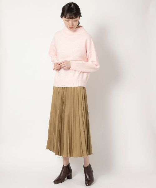 NIMES / ニーム ロング・マキシ丈スカート | ギャバストレッチプリーツスカート | 詳細11