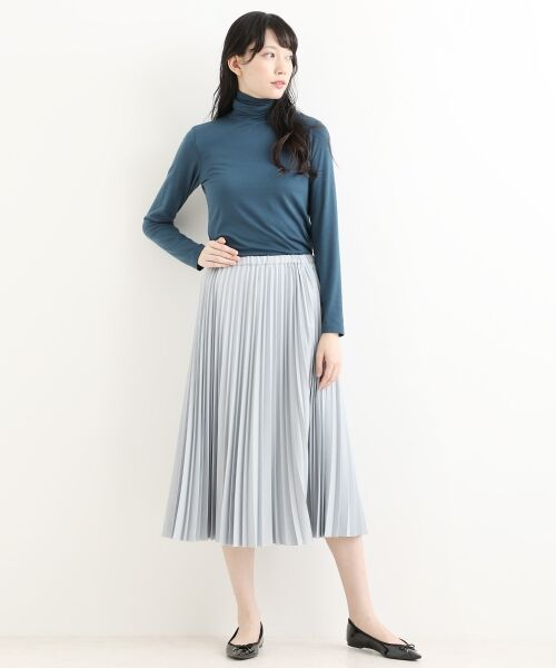 NIMES / ニーム ロング・マキシ丈スカート | ギャバストレッチプリーツスカート | 詳細2