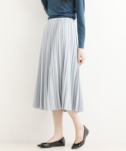 NIMES / ニーム ロング・マキシ丈スカート | ギャバストレッチプリーツスカート | 詳細3