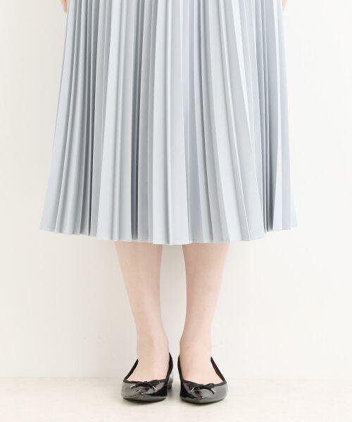 NIMES / ニーム ロング・マキシ丈スカート | ギャバストレッチプリーツスカート | 詳細7