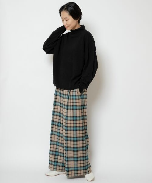 NIMES / ニーム ニット・セーター | ウールカシミアオフタートルプルオーバー | 詳細9