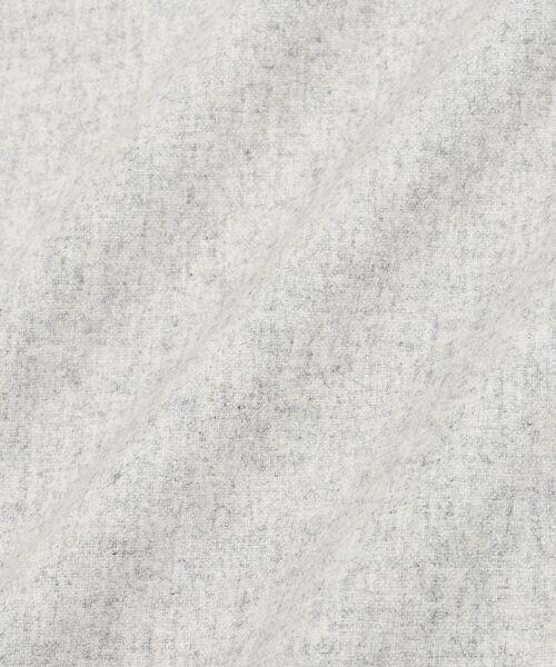 NIMES / ニーム ミニ丈・ひざ丈ワンピース | カラーフラノ 衿プリーツワンピース | 詳細11