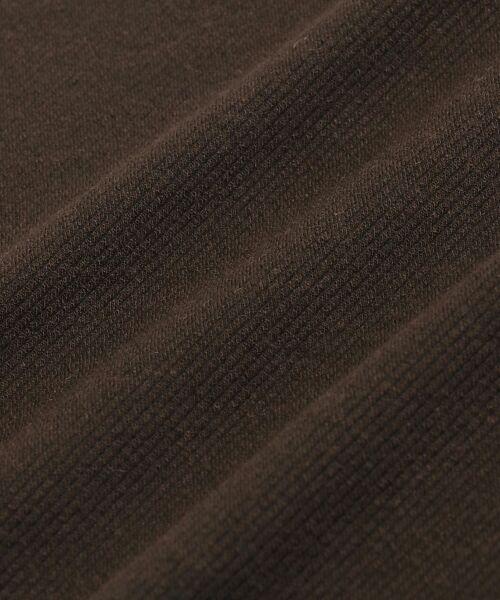 NIMES / ニーム カットソー | クロスサーモツイル袖釦プルオーバー | 詳細4