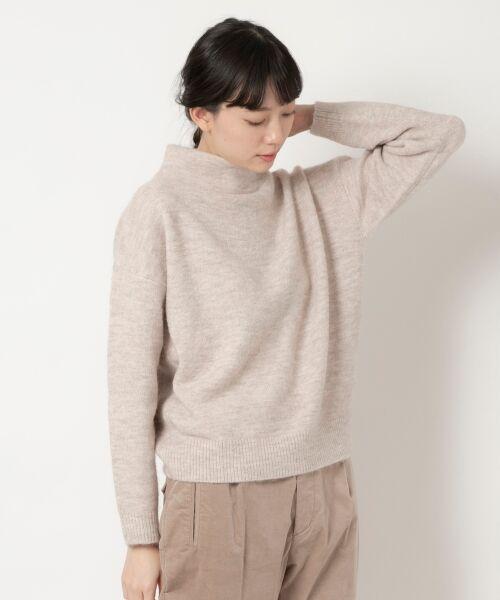 NIMES / ニーム ニット・セーター | ボトルネックプルオーバー(ベージュ)