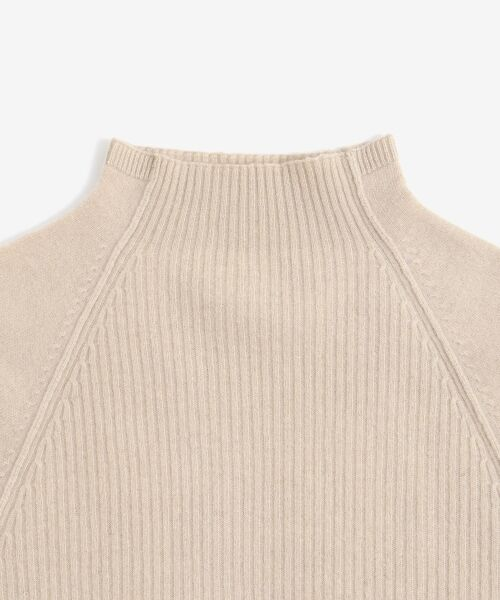 NIMES / ニーム ニット・セーター | ウールカシミヤリブコンビボトルネック | 詳細5