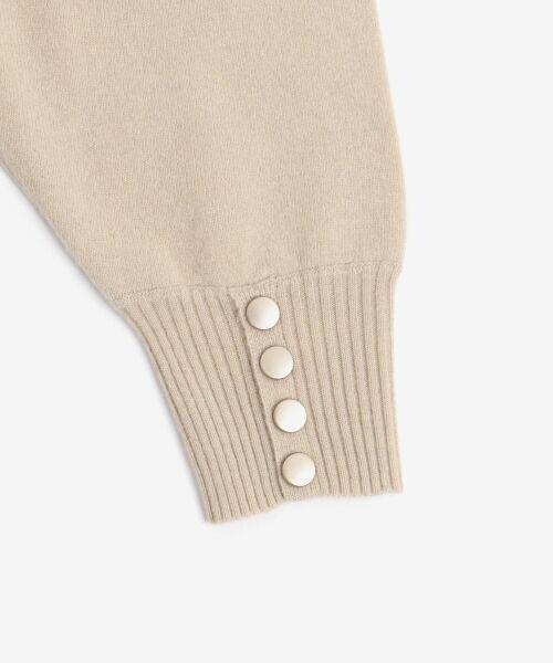 NIMES / ニーム ニット・セーター | ウールカシミヤリブコンビボトルネック | 詳細6