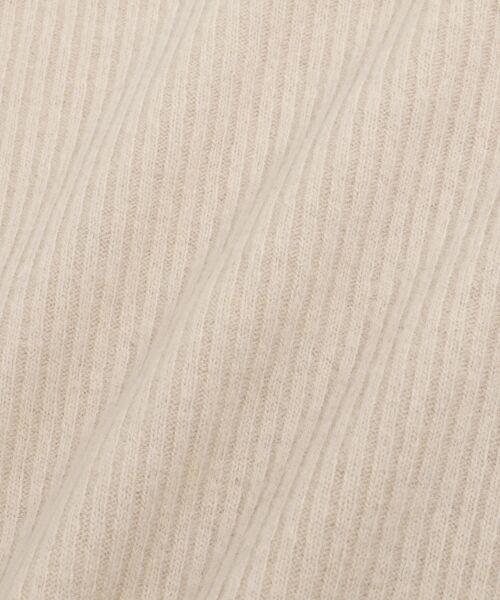 NIMES / ニーム ニット・セーター | ウールカシミヤリブコンビボトルネック | 詳細7