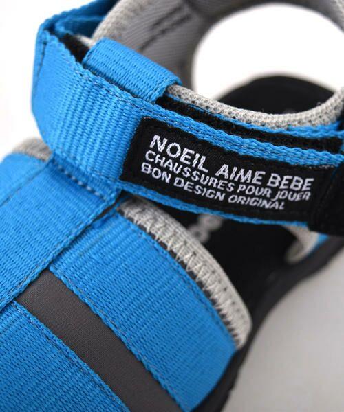 Noeil aime BeBe / ノイユ エーム べべ サンダル | 【カタログ掲載】テープデザインサンダル | 詳細2