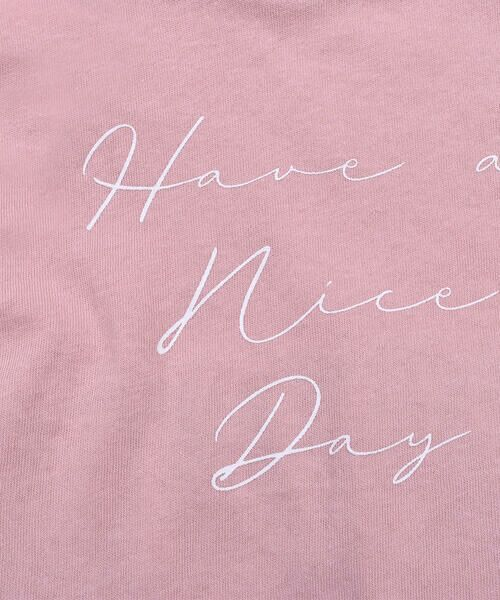Noeil aime BeBe / ノイユ エーム べべ Tシャツ | ストライプ 切替 半袖 Tシャツ (90~130cm) | 詳細16