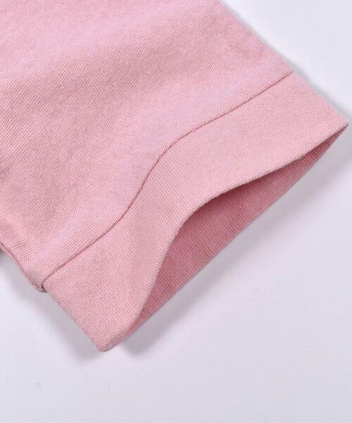 Noeil aime BeBe / ノイユ エーム べべ Tシャツ | ストライプ 切替 半袖 Tシャツ (90~130cm) | 詳細17