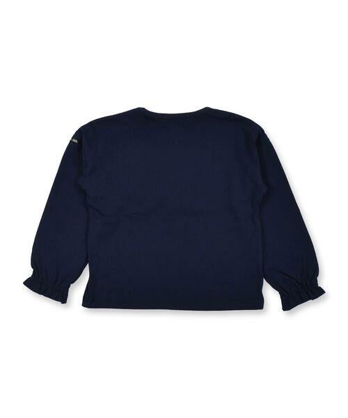 Noeil aime BeBe / ノイユ エーム べべ Tシャツ   ギンガムチェック リボン 付き Tシャツ (80~130cm)   詳細2