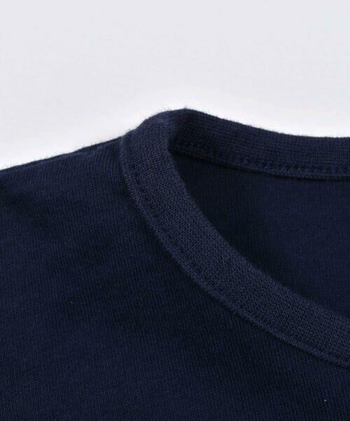 Noeil aime BeBe / ノイユ エーム べべ Tシャツ   ギンガムチェック リボン 付き Tシャツ (80~130cm)   詳細3