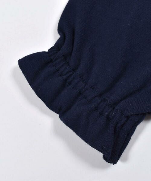 Noeil aime BeBe / ノイユ エーム べべ Tシャツ   ギンガムチェック リボン 付き Tシャツ (80~130cm)   詳細5
