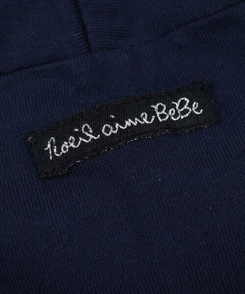 Noeil aime BeBe / ノイユ エーム べべ Tシャツ   ギンガムチェック リボン 付き Tシャツ (80~130cm)   詳細6