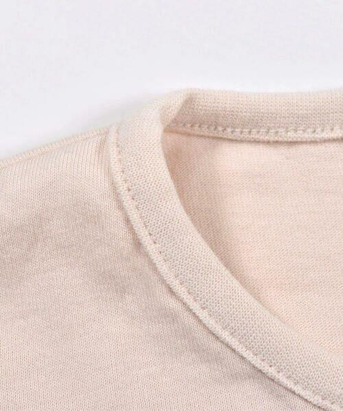 Noeil aime BeBe / ノイユ エーム べべ Tシャツ   ギンガムチェック リボン 付き Tシャツ (80~130cm)   詳細12