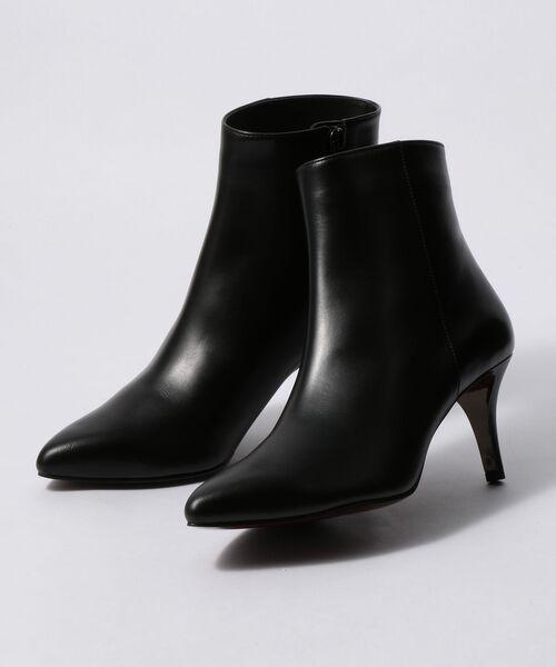 Odette e Odile / オデット エ オディール ブーツ(ショート丈) | OFD PTDプレーン ショートブーツ70↓↑(BLACK)