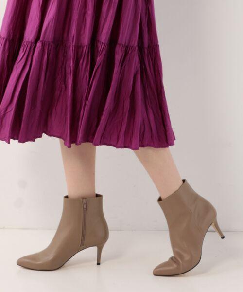 Odette e Odile / オデット エ オディール ブーツ(ショート丈) | OFD PTDプレーン ショートブーツ70↓↑ | 詳細24