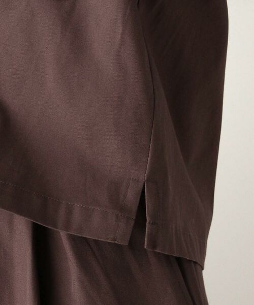 OPAQUE.CLIP / オペーク ドット クリップ テーラードジャケット | 【洗濯機洗いOK】オープンカラーダブルポケットジャケット | 詳細6