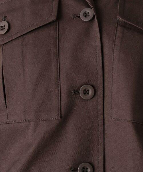 OPAQUE.CLIP / オペーク ドット クリップ テーラードジャケット | 【洗濯機洗いOK】オープンカラーダブルポケットジャケット | 詳細7
