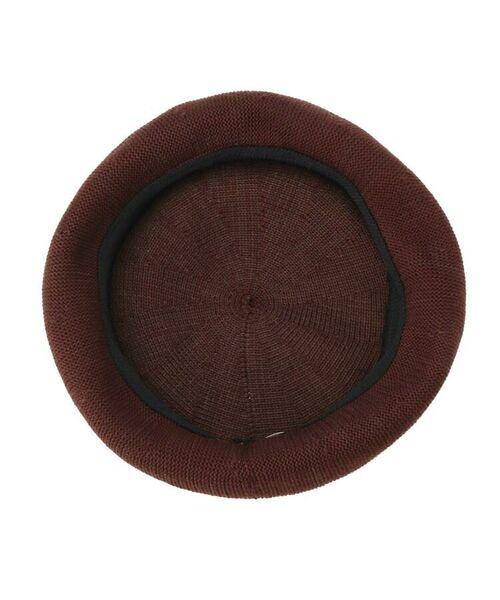 OZOC / オゾック ハンチング・キャスケット・ベレー帽 | クロシェ編みベレー | 詳細4