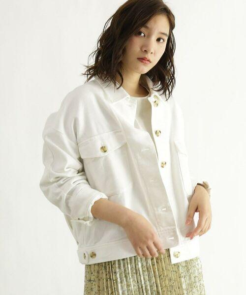OZOC / オゾック ミリタリージャケット・コート | [洗える]ミリタリーCPOジャケット(ホワイト(003))
