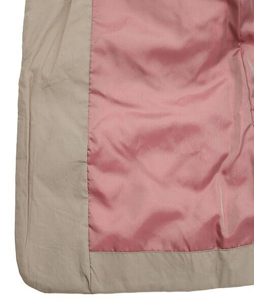 PAL'LAS PALACE / パラスパレス ノーカラージャケット | サイロブロード ボトル衿コート | 詳細5