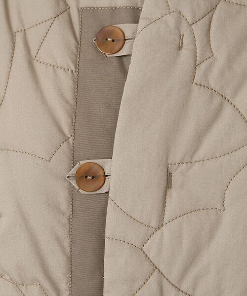 PAL'LAS PALACE / パラスパレス ノーカラージャケット | サイロブロード ボトル衿コート | 詳細7