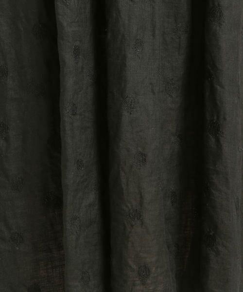 Pao・de・lo / パオデロ スカート | 【雑誌掲載】【WEBサイズ別注】リネンドット刺繍スカート | 詳細2