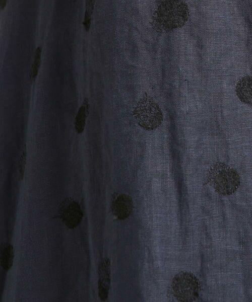 Pao・de・lo / パオデロ スカート | 【雑誌掲載】【WEBサイズ別注】リネンドット刺繍スカート | 詳細10