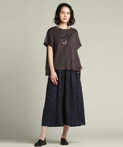 Pao・de・lo / パオデロ スカート | 【雑誌掲載】【WEBサイズ別注】リネンドット刺繍スカート | 詳細11