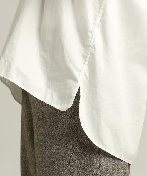 Pao・de・lo / パオデロ シャツ・ブラウス | 【WEBサイズ別注】製品染め綿サテンブラウス | 詳細5