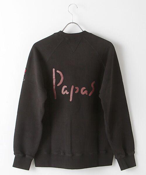PAPAS / パパス スウェット | 【定番】吊り編みトレーナー | 詳細1