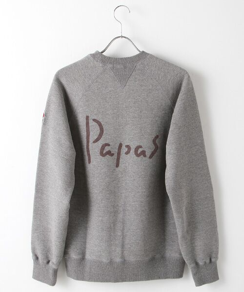 PAPAS / パパス スウェット | 【定番】吊り編みトレーナー | 詳細2