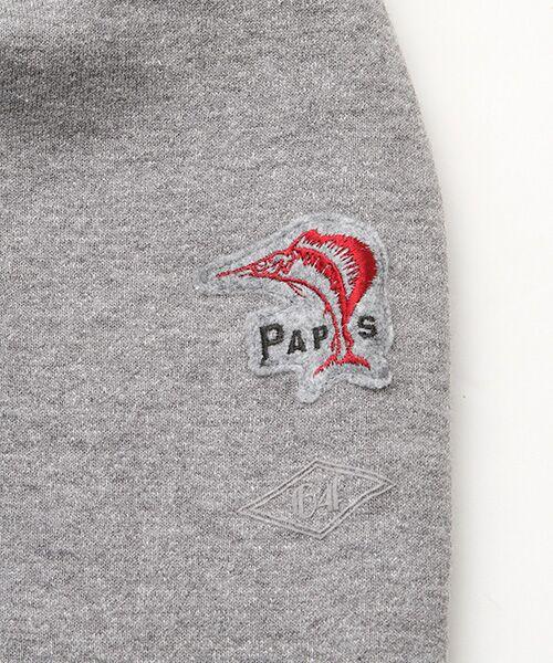 PAPAS / パパス スウェット | 【定番】吊り編みトレーナー | 詳細3