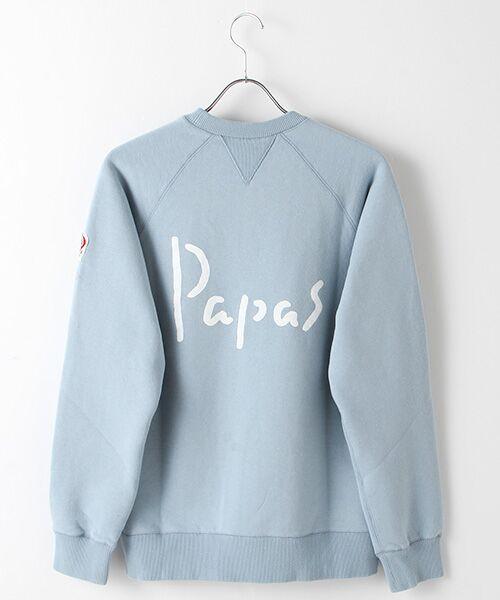 PAPAS / パパス スウェット | 【定番】吊り編みトレーナー | 詳細6