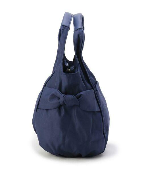 passage mignon / パサージュ ミニョン トートバッグ | 【軽量】サイドリボンラウンド型バッグ | 詳細2